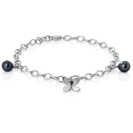 Forget me not bracelet with pearls, Asajewellery