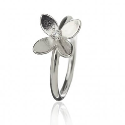 Forget Me Not 4 petals Ring