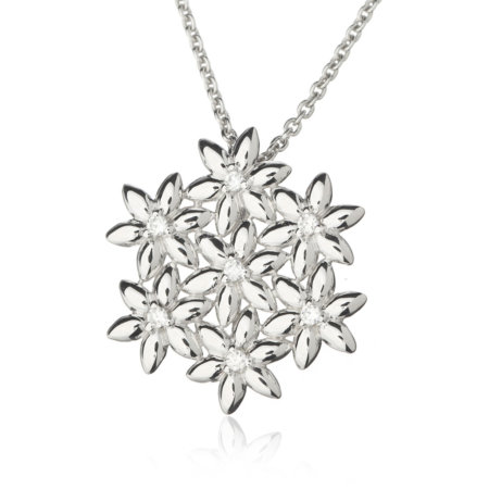 Summer Breeze Flower Bouquet Pendant