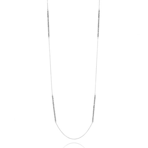 White Frost II, necklace, longchain, longlinks